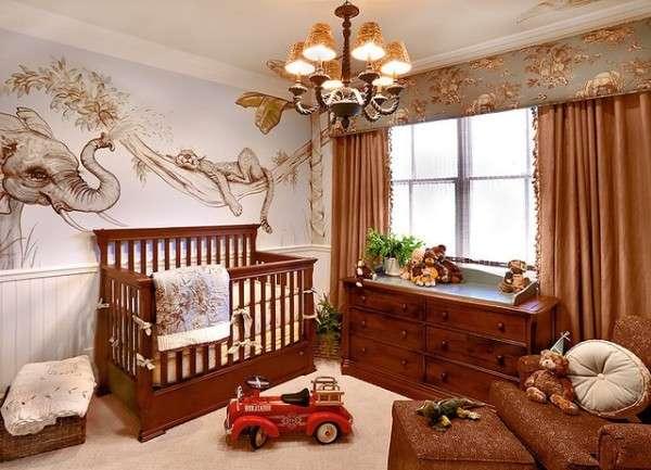 Какие выбрать обои в детскую комнату для новорожденного