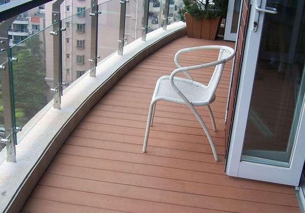 Палубная доска на балконе своими руками